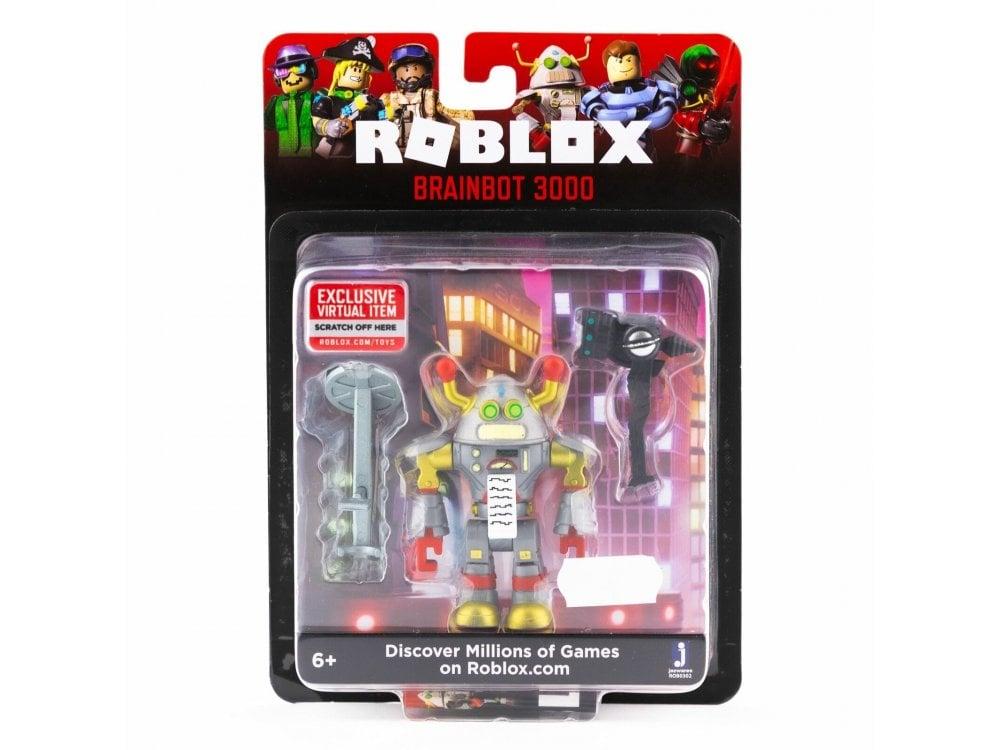 Roblox Brainbot 3000 Action Figure