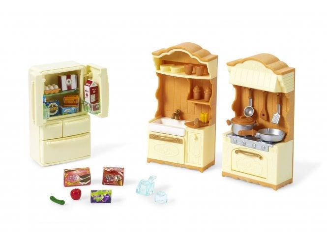 Sylvanian Families Kitchen Play Set Toys From Toytown Uk